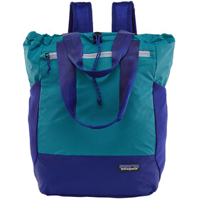 Patagonia Ultralight Black Hole Tote Bag, curacao blue